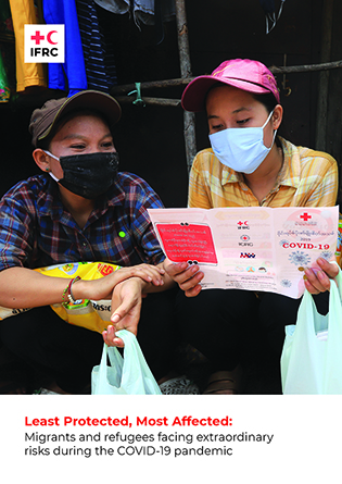 report image featuring two masked people